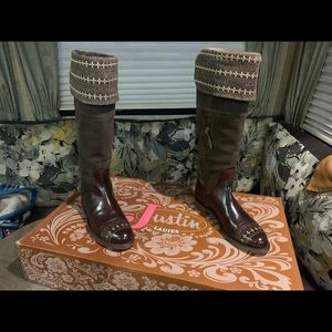 Justin. Reba collection tall over the knee boots